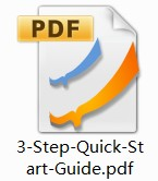 3-Step Quick-Start Guide PDF