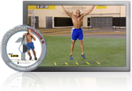 "Shaun T gives you a step-by-step breakdown of his 8 mind-twisting agility moves, so you'll be a pro when it comes time to hop in the ladder. Don't be fooled by the title. . . This ""tutorial"" is a competitive workout in itself. How fast can you break out?"