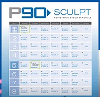 p90 workout sculpt a most popular workout programs