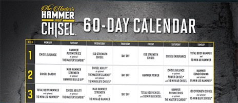 For efficient and effective training, the order of your workouts matters. With this calendar, Sagi and Autumn have you covered for the next 60 days.