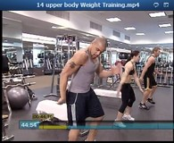 upper body Weight Training Video