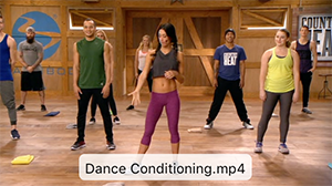 Dance Conditioning Video