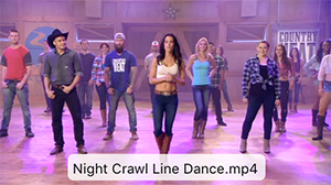 Night Crawl Line Dance Video