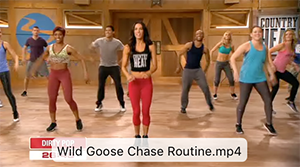 Help kick your metabolism into overdrive with this pulse-pounding dance routine set to songs like